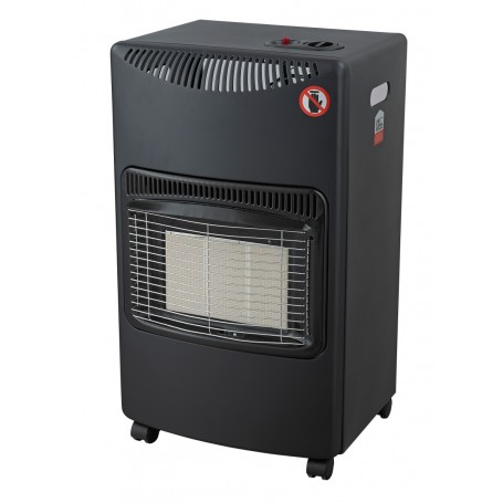 Ardes Stufa a Gas GPL Infrarossi Portatile Max 4200W Nero AR382 Chalor Plus
