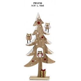 Albero di Natale legno cm.31 1*24
