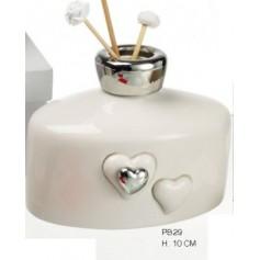 Profumatore Porcellana 12x7x10 con box 1*36
