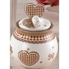 Zuccheriera Ceramica Honey cm.11 4*48