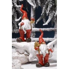 Babbo Natale Resina cm.13 1*60
