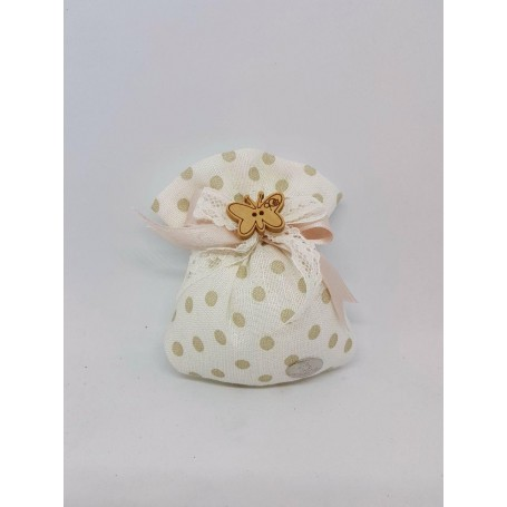 Sacchettino Mini Confezionato 5 confetti