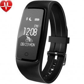 Orologio Fitness, Smart Band Cardiofrequenzimetro da Polso Impermeabile IP67
