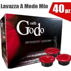 Capsule Caffè compatibili GODO LAVAZZA A MODO MIO 40 PEZZI