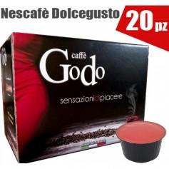 Capsule Caffè compatibili GODO DOLCE GUSTO 20 PEZZI