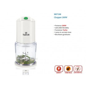 TRITATUTTO CHOPPER 0,6 LT 260W TUDOR