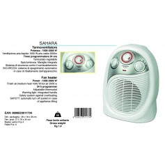 TERMOVENTILATORE SAHARA JOHNSON 1000-2000W