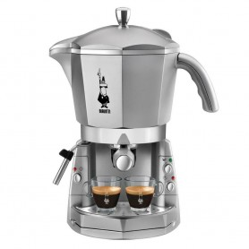 Bialetti Mokona CF40 Macchina Caffe' Espresso 1050 W 1,5 Litri 20 Bar Silver