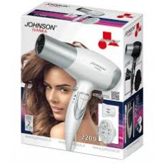 ASCIUGACAPELLI JOHNSON IVANKA2200 WATT CON DIFFUSORE