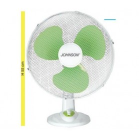 VENTILATORE JOHNSON OSCILLANTE BASE 43 PALA 43