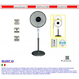VENTILATORE JOHNSON SILENT43 5 PALE 45W