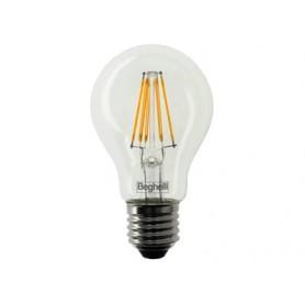 LAMPADINA LED ZAFIRO BEGHELLI GOCCIA E27 810 LUMEN 2700K