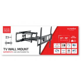 "STAFFA TV SUPERIOR 37""-70"" FULL MOTION EXTRA SLIM 40 KG"