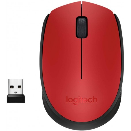 MOUSE WIRELESS LOGITECH M171 CON RICEVITORE USB, 2,4GHZ