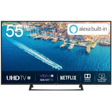 "TV LED 55"" HISENSE H55BE7200 Smart TV LED Ultra HD 4K 55"", HDR10, Dolby DTS, Single Stand Slim Design, Tuner DVB-T2/S2 HEVC Ma"