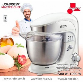 IMPASTATORE JOHNSON MASTER-CHEF 4L 1000W