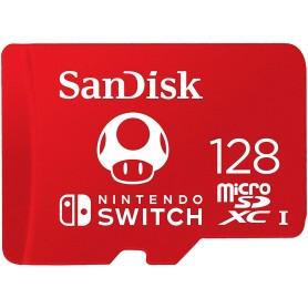 MICRO SD 128GB SANDISK UHS-I SWITCH
