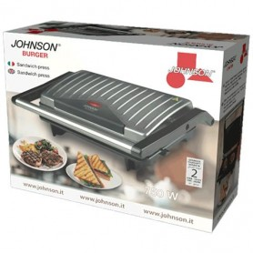 TOSTIERA JOHNSON BURGER SANDWITCH 750W