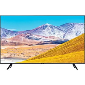 "TV LED 55"" SAMSUNG UE55TU8070UXZT 4K SMART TV Serie TU8070, Crystal UHD 4K, Wi-Fi, 2020, con Alexa integrata, Nero , a+"