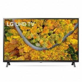 TV LED 55 LG 55UP75006LF Smart TV 4K Ultra HD Wi-Fi PROCESSORE QUAD CORE AI SOUND NERO